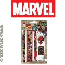 Marvel Comics Retro Stationery Set 5 Piece