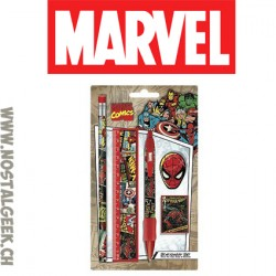 Marvel Comics Retro Stationery Set 5 Piece