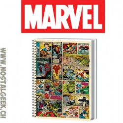 Marvel Bloc-notes à spirales A4
