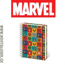 Marvel Comic Strip A4 Notebook Spiral bound