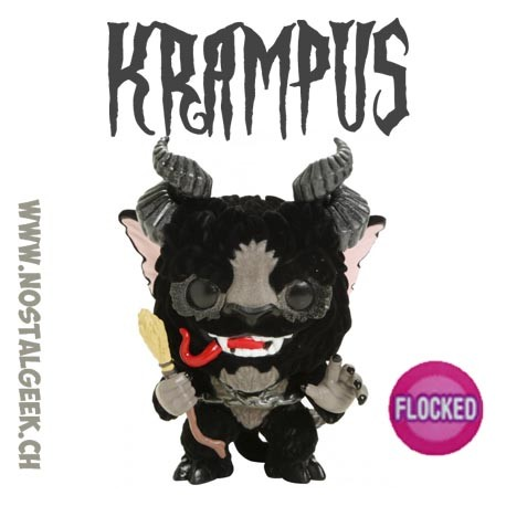 Funko Pop Holidays Krampus Flocked Exclusive Vinyl Figure