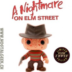 Funko Pop Horror A nightmare On Elm Street Freddy Krueger Chase Edition Limitée
