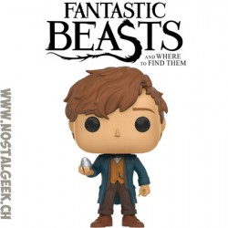 Funko Pop! Movies Fantastic Beasts Newt Scamender With Egg Vinyl Figure