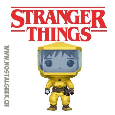 051438fd188 Funko Pop TV Stranger Things Pop Stranger Things Joyce in Biohazard Suit  Exclusive Vinyl Figure