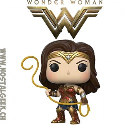 Funko Pop! DC Wonder Woman with Lasso of Truth Edition Limitée