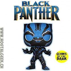 Funko Pop Marvel Black Panther GITD Exclusive Vynil Figure
