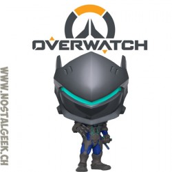Funko Pop! Jeux Vidéos Games Overwatch Genji (Carbon Fiber) Exclusive Vinyl Figure