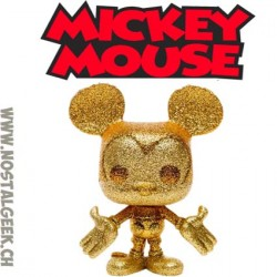 Funko Pop Disney Mickey Mouse (Diamond Collection) Edition Limitée