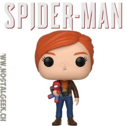 Funko Pop! Marvel Games Spider-man Mary Jane with Plush