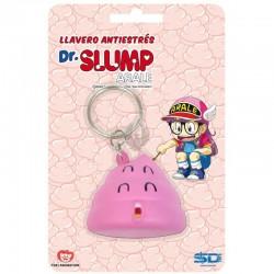 Porte-clés antistress Dr. Slump Arale