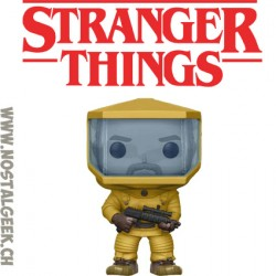 Funko Pop Stranger Things Hopper in Biohazard Suit Exclusive