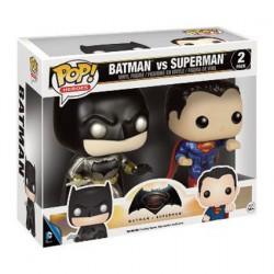 Funko Pop! Batman vs Superman Metallic pack Edition limitée