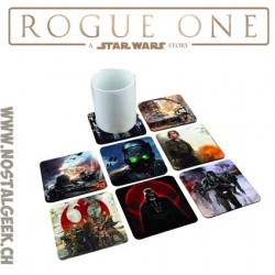 Star Wars: Rogue One 8 dessous de verre lenticulaires 3d