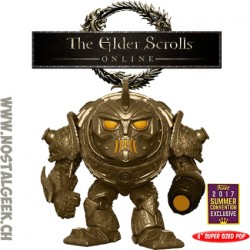 Funko Pop 15 cm SDCC 2017 Elder Scrolls Dwarven Colossus Edition Limitée
