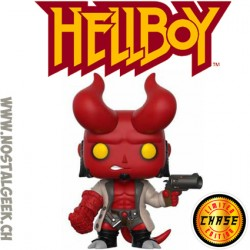 Funko Pop Comics Hellboy (Horns) Chase Limited Vinyl Figure