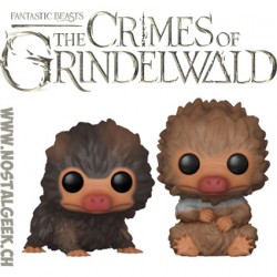 Funko Pop! Movies Fantastic Beasts 2 The Crimes of Grindelwald Baby Nifflers 2 pack Vinyl Figures