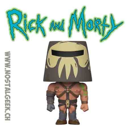 Funko Pop Animation Rick & Morty Warrior Summer Vinyl Figure