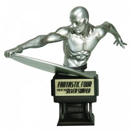 Marvel Fine Art buste Fantastic 4 Silver Surfer 23 cm