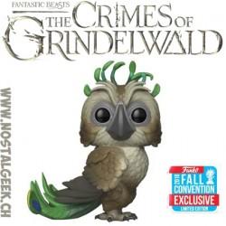 Funko Pop Fantastic Beasts NYCC 2018 Crimes Of Grindelwald Augurey Edition limitée