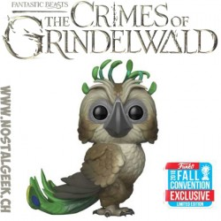 Funko Pop Fantastic Beasts NYCC 2018 Crimes Of Grindelwald Augurey Exclusive Vinyl Figure