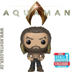 Funko Pop DC NYCC 2018 Aquaman Arthur Curry Shirtless Exclusive Vinyl Figure
