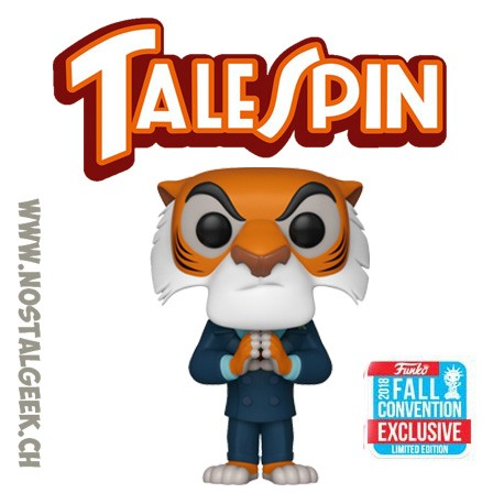 Funko Pop Disney NYCC 2018 Talespin Shere Khan (Hands Together) Edition limitée