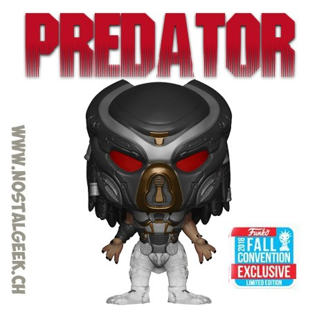 Funko Pop Movies NYCC 2018 The Predators Fugitive Predator Edition limitée
