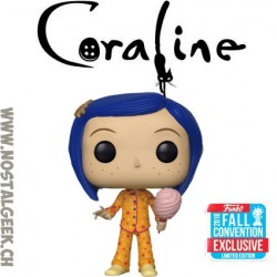 Funko Pop Animation NYCC 2018 Coraline In Pajamas Exclusive Vinyl Figure