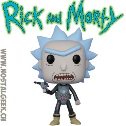 Funko Pop Cartoons Rick and Morty Prison Break Rick (Rare)