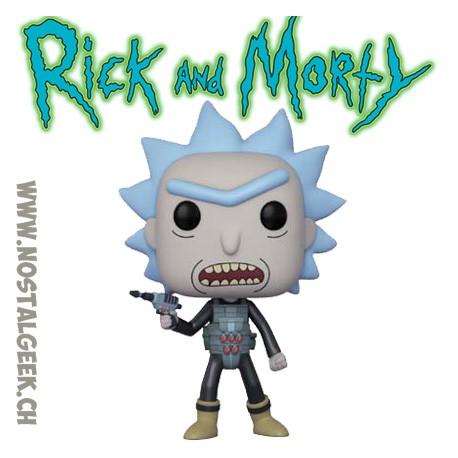 Funko Pop Cartoons Rick and Morty Prison Break Rick (Rare)