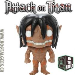 Funko POP- Titan Eren Jaeger en mode rage - Attaque des titans