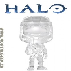 Funko Pop Pop Games Halo Master Chief with Active Camo Edition Limitée