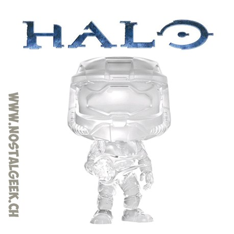 Funko Pop Pop Games Halo Master Chief with Active Camo Edition Limitée
