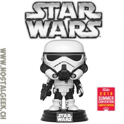 Funko Pop SDCC 2018 Star Wars Imperial Patrol Trooper Edition Limitée