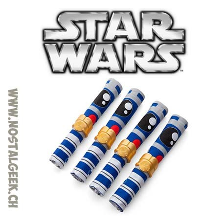 Star Wars Jeu de Serviettes R2-D2 et Ronds de serviette C3PO