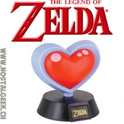 The Legend of Zelda Heart Container Light 10 cm