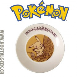 Pokemon Mini Assiette Pocket Monsters Sepia Graffiti