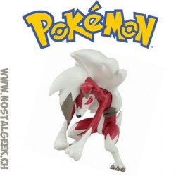 Pokemon Lyvanroc (Midnight Form) Pokemoon Moon Action Figure