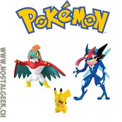 Pokemon Fight Pack Pikachu Vs Salandit Figures