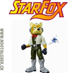 World of Nintendo Starfox Fox McCloud Action Figure