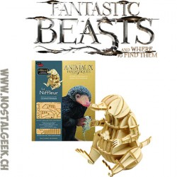 Les Animaux Fantastiques Le Niffleur Livre + puzzle 3d en Bois