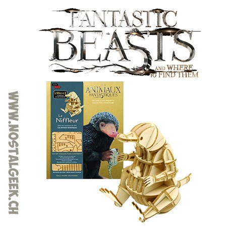 Fantastic Beasts The Niffler The book + 3d Puzzle Kit