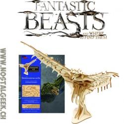Les Animaux Fantastiques Démonzémerveille Livre + puzzle 3d en Bois