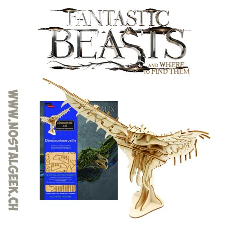 Fantastic Beasts Swooping Evil The book + 3d Puzzle Kit