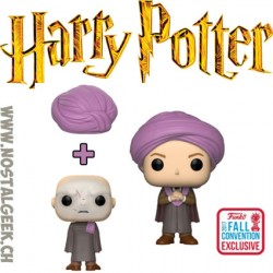 Funko Pop NYCC 2018 Harry Potter Professor Quirrell Edition Limitée