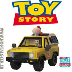 Funko Pop Ride Disney NYCC 2018 Toy Story Pizza Planet Truck with Buzz Lightyear Vinyl Figure
