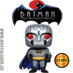 Funko Pop! DC Batman The Animated Series Batman (Robot) (Full Metal Head) Chase Edition Limitée