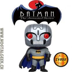 Funko Pop! DC Batman The Animated Series Batman (Robot) (Full Metal Head) Chase Edition Limitée