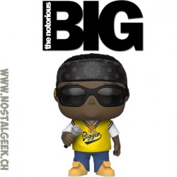 Funko Pop Music Notorious B.I.G. in jersey Vinyl Figure