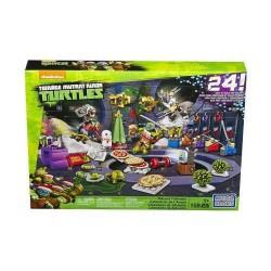 TMNT Nickelodeon Mega Bloks - Calendrier de l'avent Tortues Ninja 158 pièces